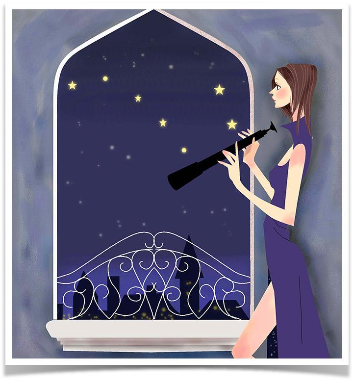 WISDOM 智慧の言葉 美しく生きるための9つの知恵 第7章 星降る夜空 〜星に願いを〜