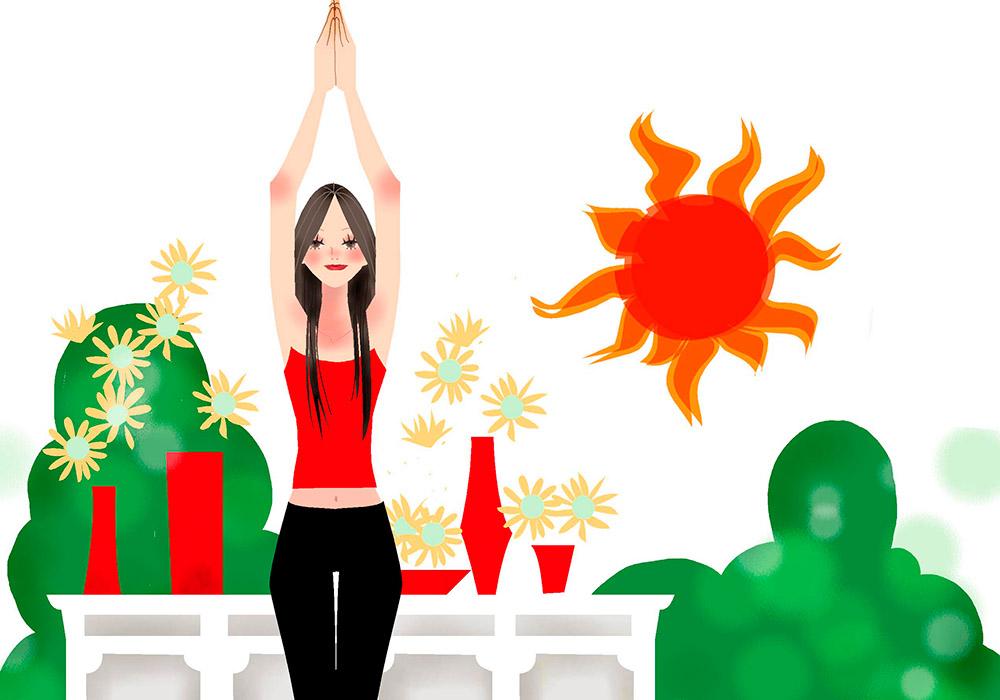 LINA EDA リーナ・エダ WISDOM 智慧の言葉 美しく生きるための9つの知恵 第1章 太陽の祝福