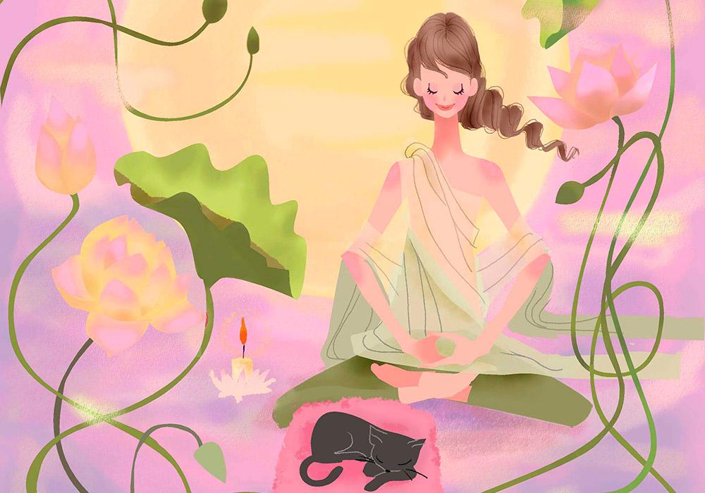 LINA EDA リーナ・エダ WISDOM 智慧の言葉 美しく生きるための9つの知恵 第2章 月の神秘
